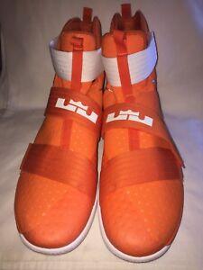 best authentic 78013 90016 Details about NEW Men's Nike Lebron Soldier 10 TB Promo 856489 883 Shoes  Size: 17 UK 16 Orange