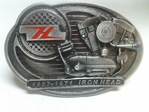 Belt Buckle for Harley Rider Ironhead '57-'71