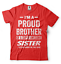miniature 14 - Gift For Brother Funny Birthday Gift For Brother Proud Brother Funny T shirt