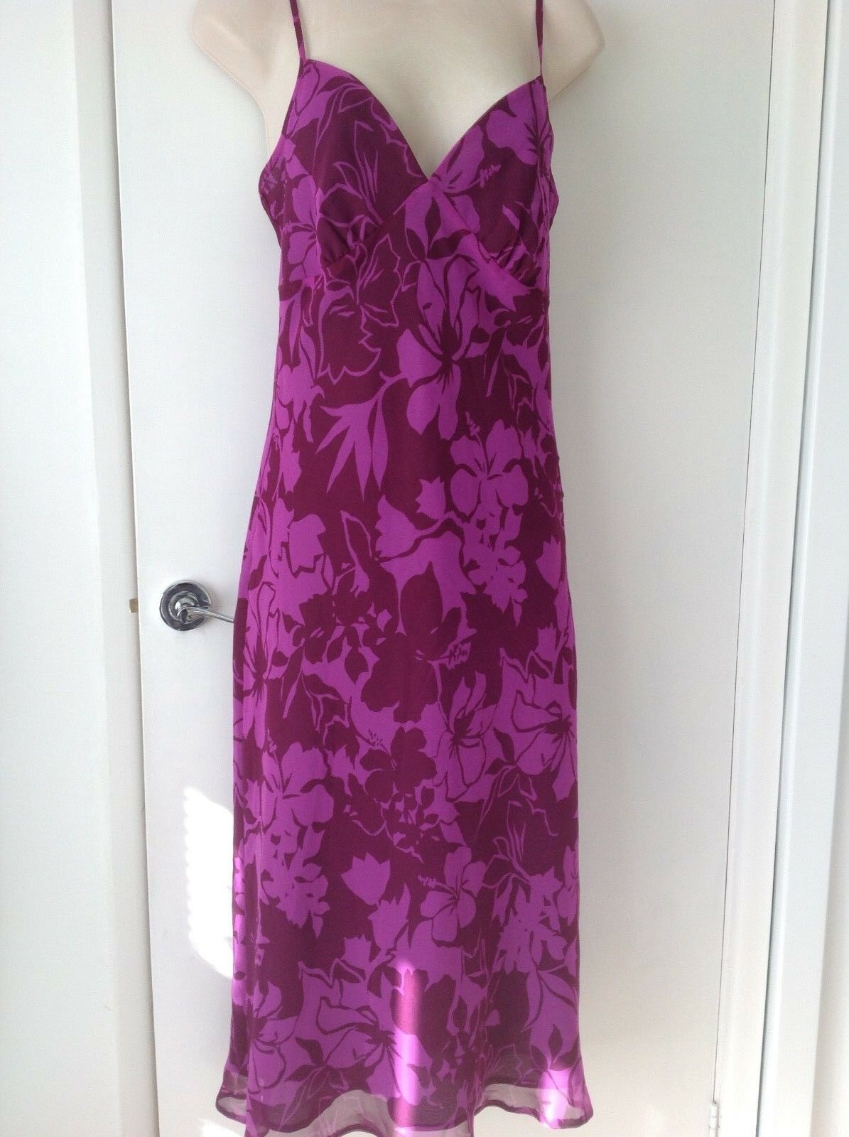 BNWT,  HYPHEN, EXCLUSIVELY AT DEBENHAMS, STRAPPY DRESS, SIZE 10, MADE IN U.K