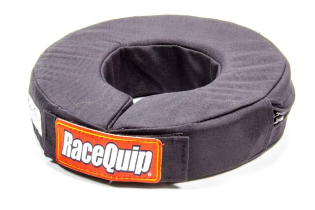 RACEQUIP JUNIOR 360 deg.NECK BRACE HELMET SUPPORT BLACK SFI QUARTER MIDGETS