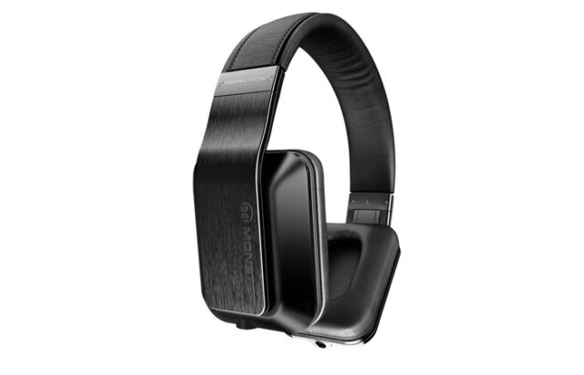 Monster Inspiration Noise Isolating Over-Ear Headphones Black - Refurbished