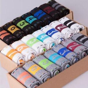 Lot-7Paires-Hommes-Chausettes-Socquettes-Coton-7-Figures-Semaine-Confort-Neuf