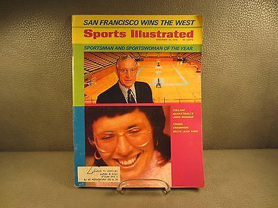 December 25 1972 John Wooden UCLA Bruins Billie Jean King Sports Illustrated