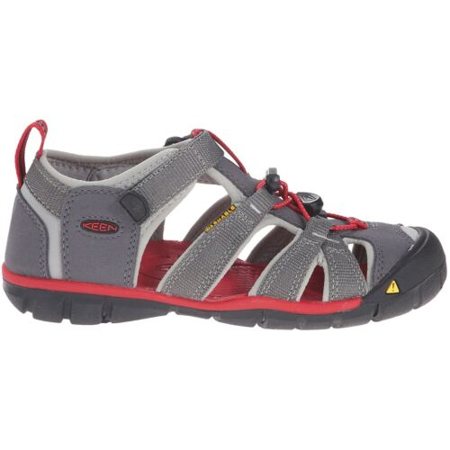 Keen Seacamp Ii Cnx Aimant Racing Red Youth Closed-Back Lavable Sandales