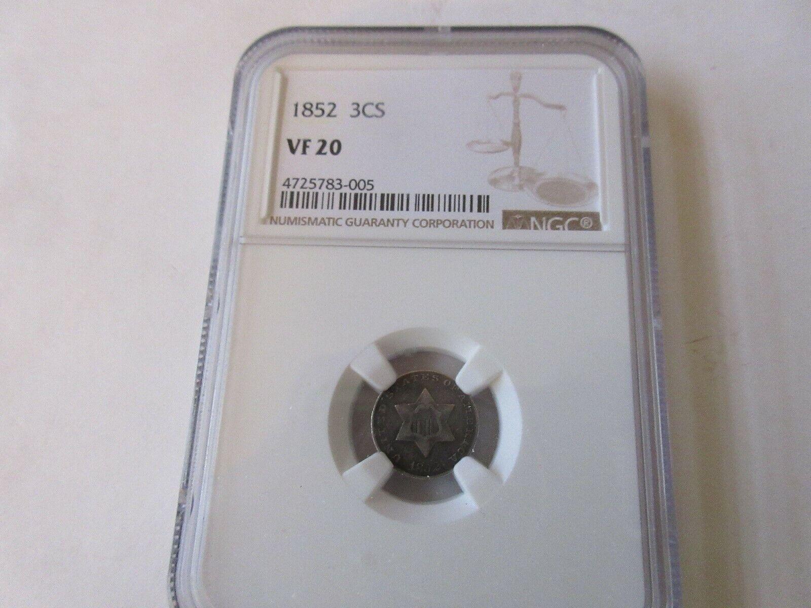 1852 3CS VF 20 NGC