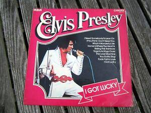 Elvis-Presley-I-got-Lucky-12-034-LP-Vinyl-Schallplatte-The-King-1962-RCA