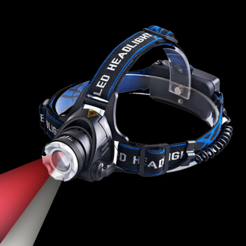5W Dual LEDs Red /& White Light Zoom Headlamp for Aviation Astronomy Head Light