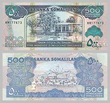 Somaliland 500 Shilin 2011 unz.
