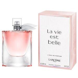Detalles de La Vie Est Belle L'eau Parfum por Lancome 3.4oz100ml De Eau De Parfum Spray para Mujeres Nuevo en Caja ver título original