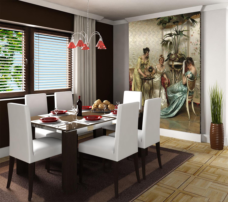 3D Drei Frauen Fototapeten Wandbild Fototapete Bild Tapete Familie Familie Familie Kinder | Der neueste Stil  | Garantiere Qualität und Quantität  | Wonderful  c919ba