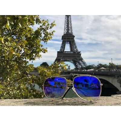 "Big Aviator  XXL ""Talon"" OVERSIZED Metal Gradient Women Sunglasses Shades"