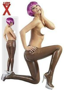 Collants-Latex-Transparent-Smoke-Unisex-Rubber-Tights-S-XL