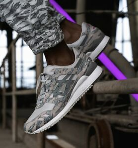the best attitude 86e77 2de36 Details about Asics X Solebox X Atmos Gel Lyte III Tiger Urban Camo Size 10