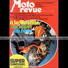 MOTO REVUE N°2156 ZÜNDAPP GS 125 KAWASAKI KX 250 BMW R75 GILERA PHIL READ 1974