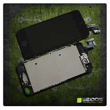 Display für iPhone 5S mit RETINA LCD Glas VORMONTIERT Komplett Front SCHWARZ NEU
