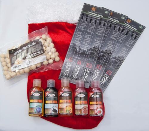 Weihnachtsstrumpf Geschenkset Karpfenangeln Ausrüstung 18 X Haar Vorfach