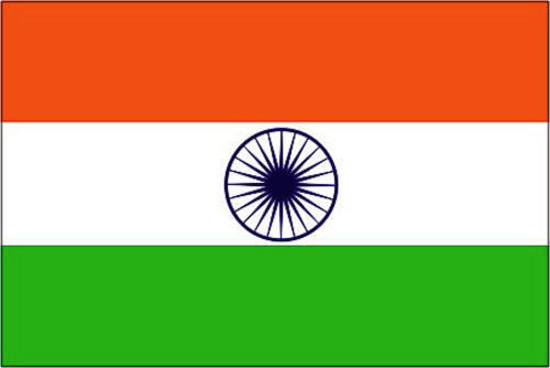 NEW 5FT  X 3FT MASSIVE INDIA INDIAN FLAG WITH EYELETS
