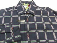 Visconti Black Label Shirt Mens Size Small S Retail $125