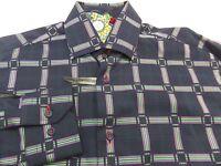 Visconti Black Label Shirt Mens Size Small S Retail $125