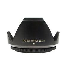 Mennon DC-sn 82 Improved Screw Mount 82mm Flower Lens Hood, Black