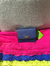 Kate Spade WLRU2728 Petty Laurel Way Mini Leather Wallet With Key Ring