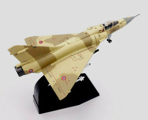 New-1-100-French-Air-Force-Mirage-2000-Fighter-Bomber-Aircraft-3D-Alloy-Model