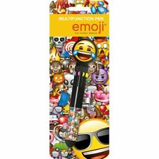 EMOJI NOVELTY PEN: Includes 10 Different Colours in 1 Pen : WH3 : 134 : NEW