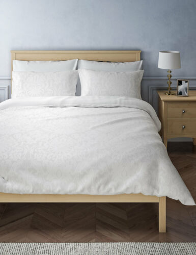 Marks /& Spencer Susie Jacquard Bedding Set Luxurious Look Machine Washable