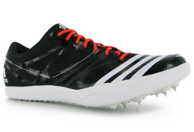 competitive price bbffe d1174 NWT Adidas Adizero LJ2 Long Jump Track Field Cleats Spikes 14 Mens Black