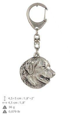 Langhaarcollie Schlüsselanhänger ART-DOG Limited Edition