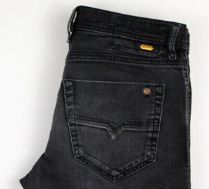 Uomini-Diesel-TEPPHAR-STRETCH-SLIM-CAROTA-Jeans-Taglia-W31-L32-ALZ1103