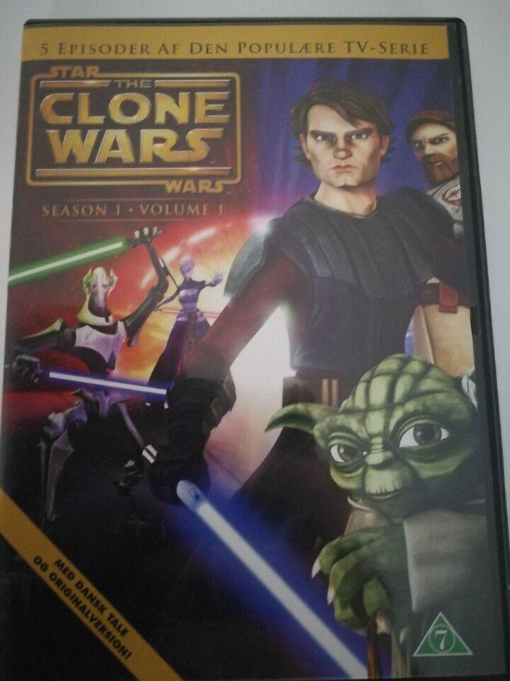 Hej jeg sælger star Wars, DVD, familiefilm