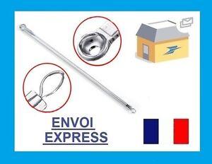 Tire-Comedon-Extracteur-Point-Noir-Acne-Aiguille-Acier-Soin-Visage-Rond