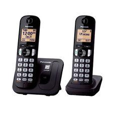 Panasonic KX-TGC212 Duo DECT-Schnurlostelefon schwarz wie NEU !!!!