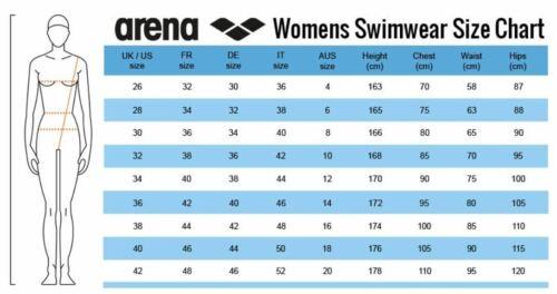 Arena Women/'s Solid Color Rose Swim Tech Chlorine Durable Practice Swimsuit