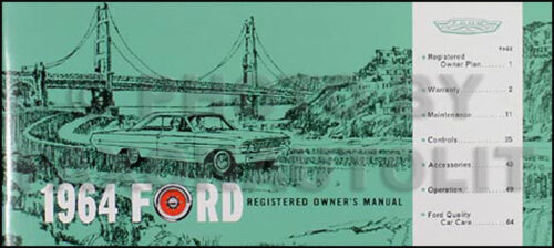 Vehicle Parts & Accessories Owner & Operator Manuals ...
