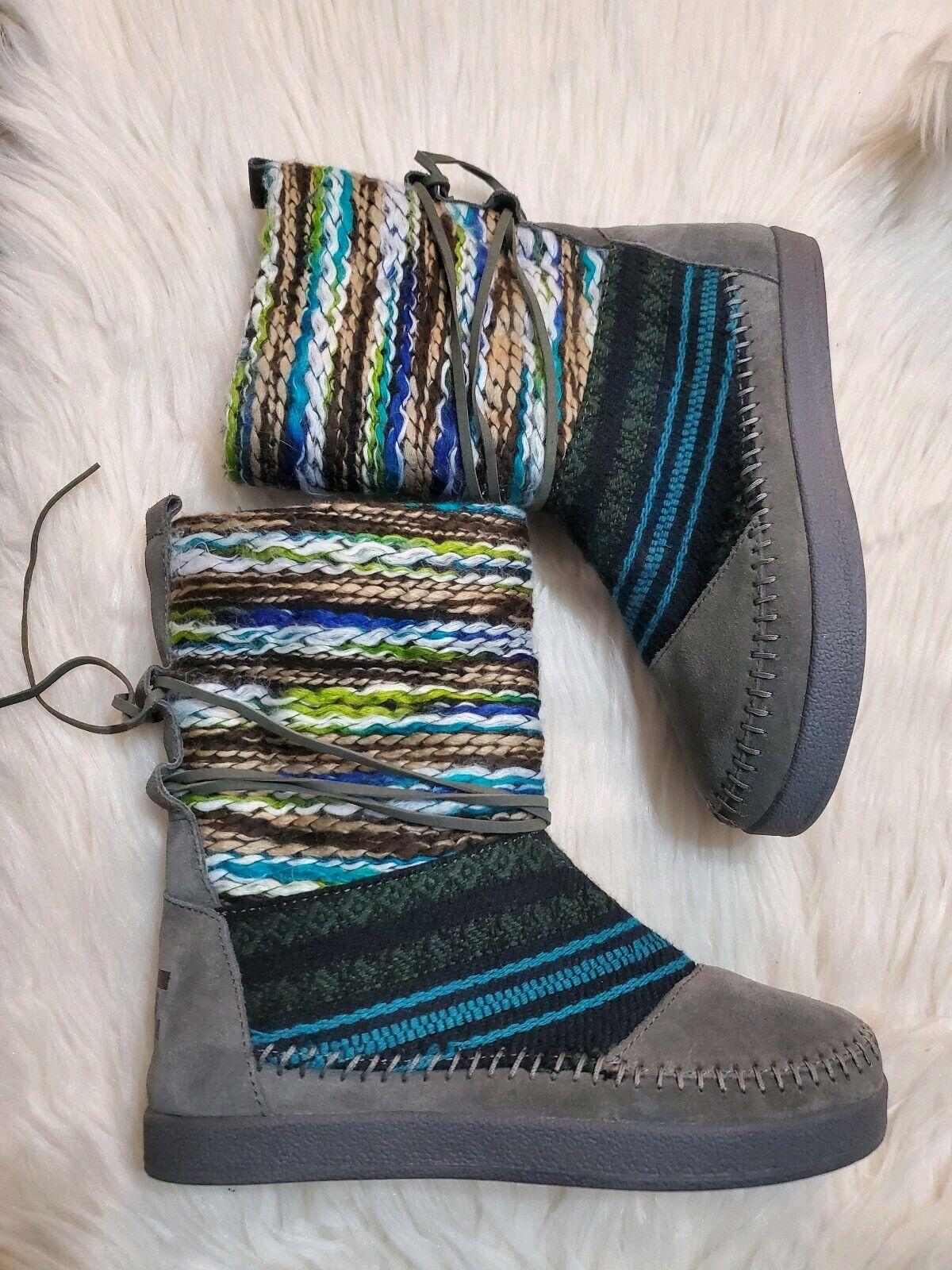 Aztec Blue Woman/'s Boots