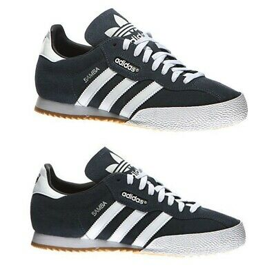 ADIDAS ORIGINALS SAMBA SUPER Suede Sneaker Uomo Tg UK 7 8 9