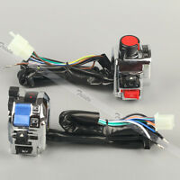 Motorcycle 7/8 Handlebar Control Headlight Turn Signal Electrical Start Switch