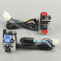 Motorcycle 7/8 Handlebar Control Headlight Turn Signal Electrical Start Switch