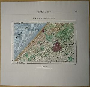 1879-Perron-map-The-Hague-Den-Haag-amp-Scheveningen-Netherlands-64