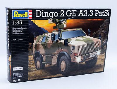 Revell 03242 Modellbausatz Panzer 1:35 Dingo 2 GE A3.3 PatSi im Maßstab 1:35