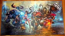 Poster A3 League Of Legends Graves Teemo Ahri Alistar Nocturne Annie Ezreal LOL