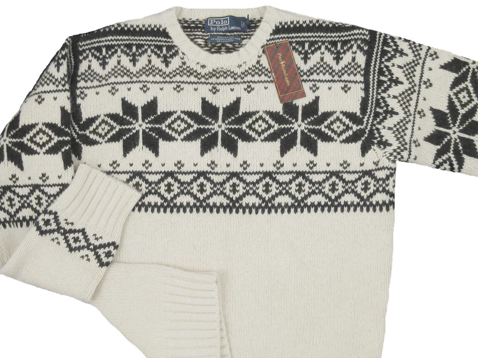 Cottonamp; New Slim Snowflake Lauren Sweater Ralph Fit Polo Cashmere EQorBWdCxe