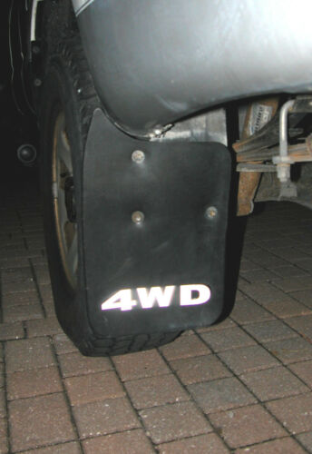 Precision Reflective Lettering to Make Your Toyota 4WD Mud Flaps look New Again!