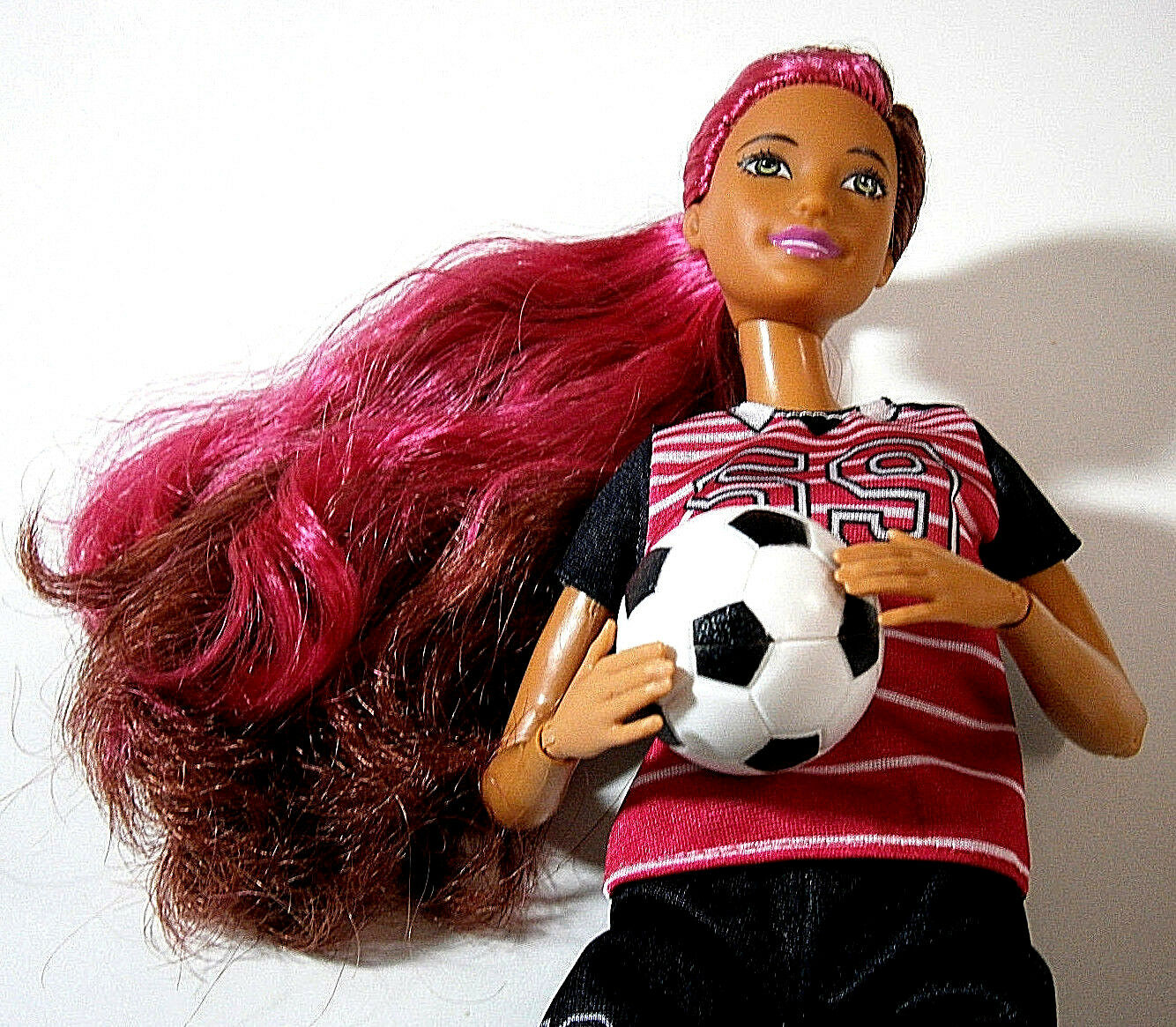 Barbie Mattel made to move Mermaid Soccer Player Doll Mix Dreamtopia a.Konvult
