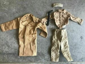 1-6-Scale-5pcs-BBI-WW2-US-Army-Shirt-Coat-Clothes-Set-Fit-12-034-Action-Figure-Body