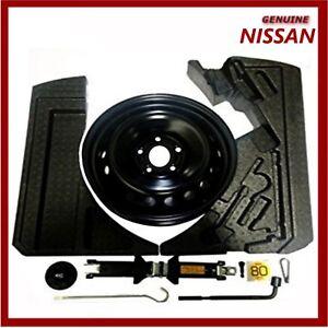 genuine nissan qashqai j11 space saver spare wheel fixing kit foam spacers ebay. Black Bedroom Furniture Sets. Home Design Ideas