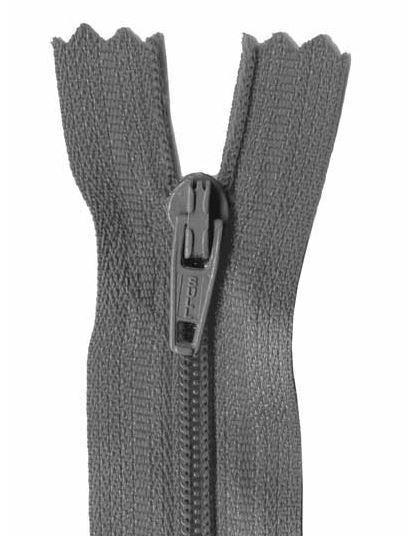 13cm Grey Dress Zip